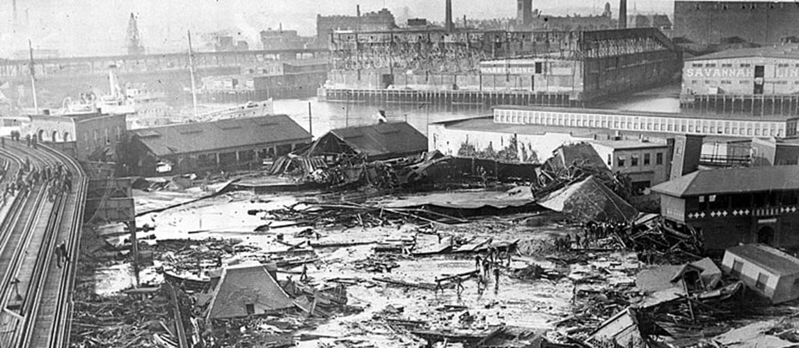 Disastrous Dinners: Boston Molasses Flood